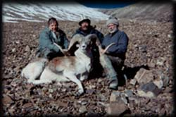 Ken Hutton of Gillette, WY with his Marco Polo in Kyrgyzstan