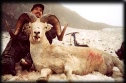 Dan Kutz of Springdale, WA with another fine Dall Ram