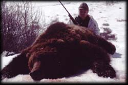 Tony Knox of Shakopee, MN with his Spring Brown Bear