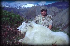 Brian Wagner of Howard Lake, MN with his Mt. Goat.